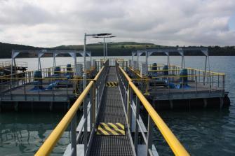 Realizácia plávajúcej čerpacej stanice na pontónoch